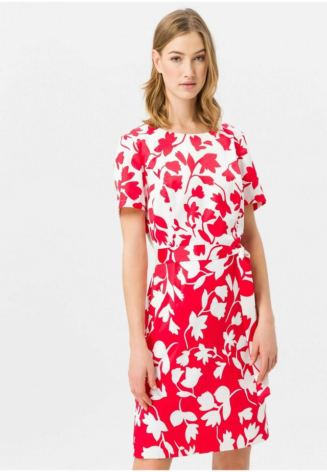 MIT 1/2-ARM - Korte jurk - red/offwhite