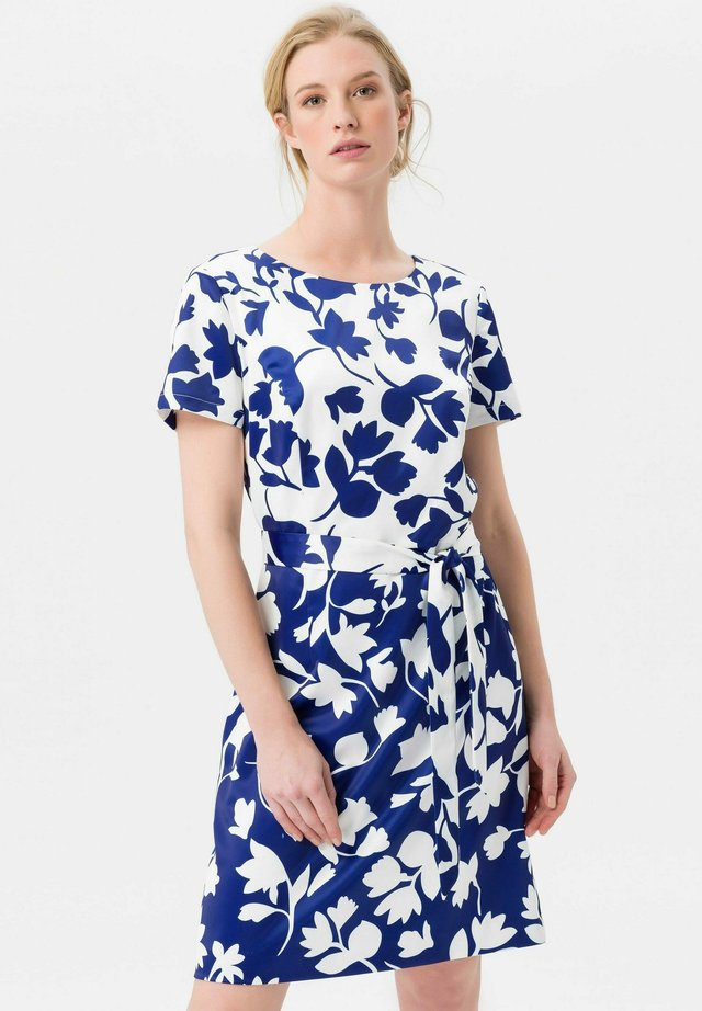 MIT 1/2-ARM - Freizeitkleid - ink blue/Off-White