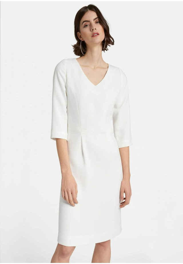 MIT 3/4-ARM - Korte jurk - offwhite
