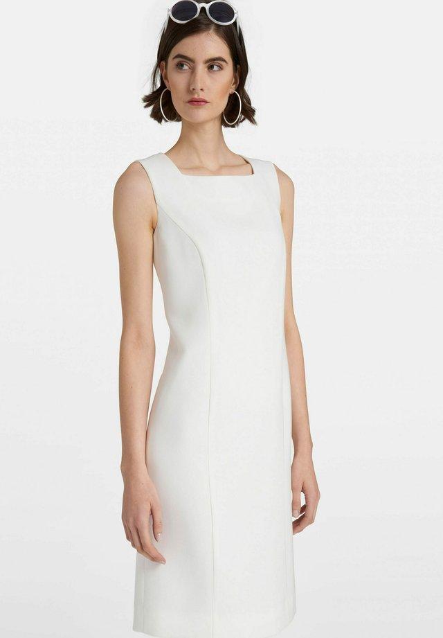 ÄRMELLOS - Korte jurk - offwhite