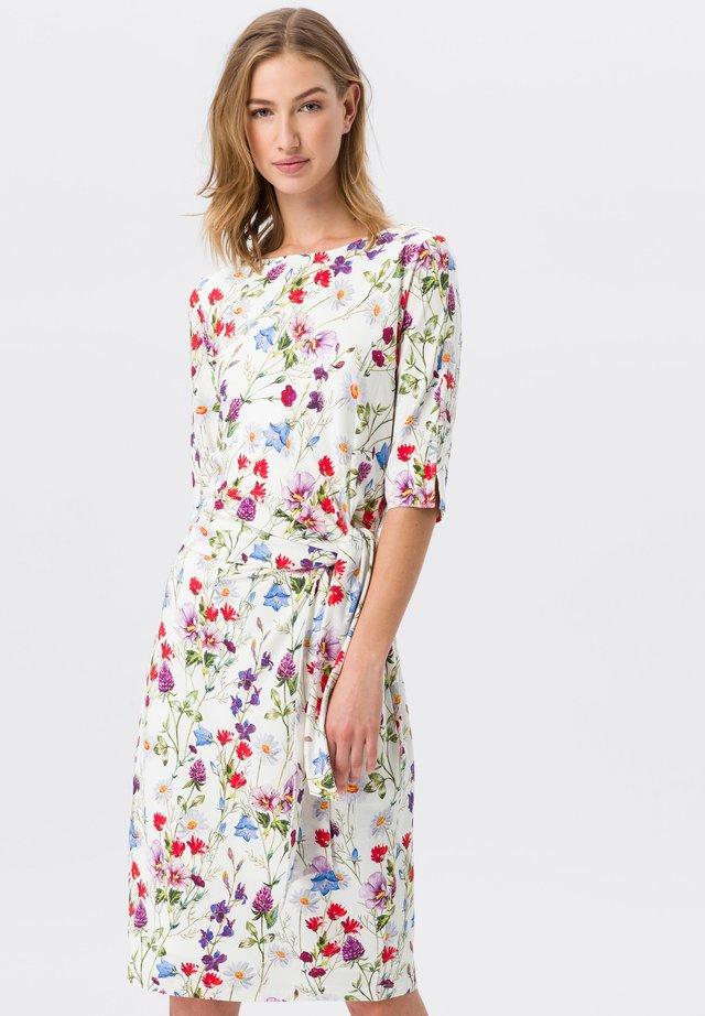 Korte jurk - offwhite/multicolor