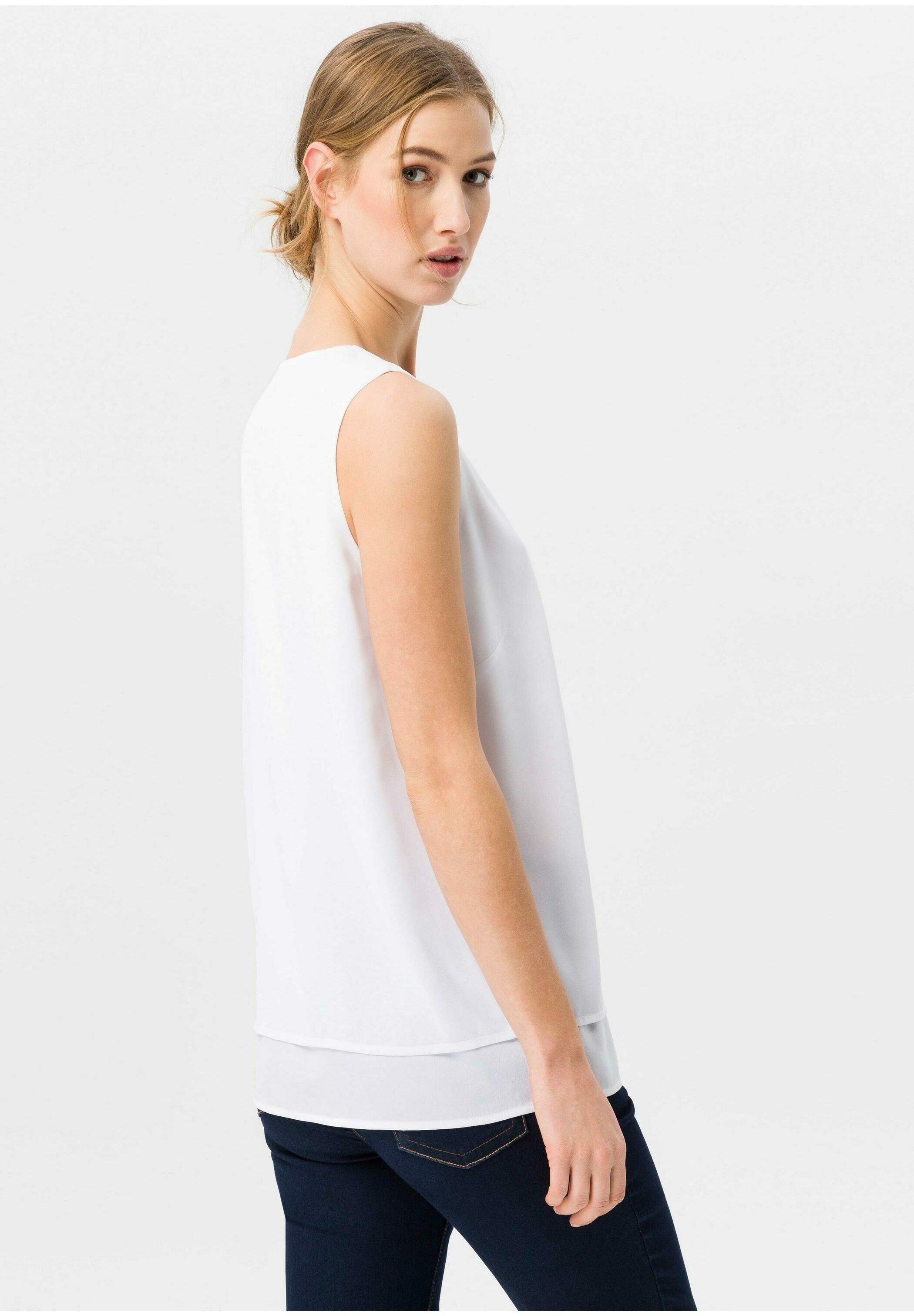 Uta Raasch Bluse - Blouse Weiß