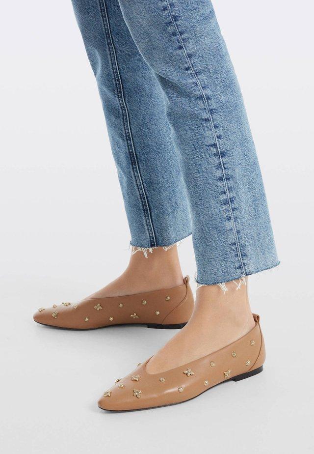 Ballerinaskor - brown