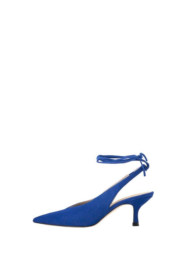 SLINGPUMPS AUS WILDLEDER 15234580 - Classic heels - gold
