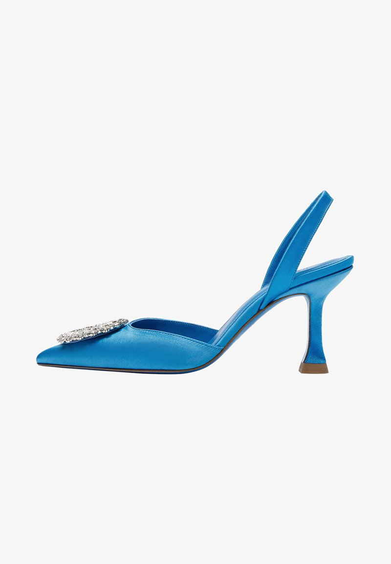 Uterqüe - Ankle boots - blue