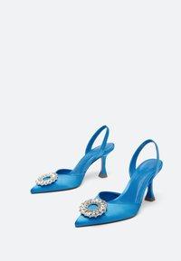 Uterqüe - Ankle boots - blue - 2