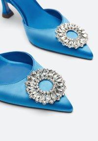 Uterqüe - Ankle boots - blue - 3