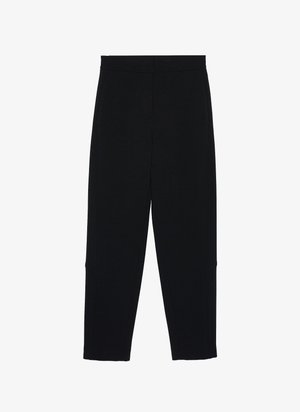 MIT STEPPNÄHTEN - Trousers - black