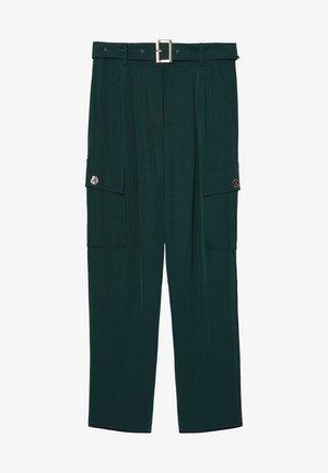 MIT TASCHEN - Trousers - green