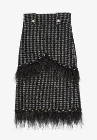 Uterqüe - A-line skirt - black - 5