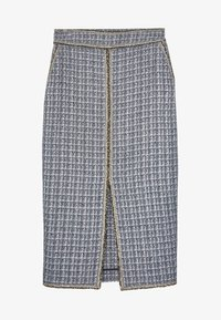 Uterqüe - Pencil skirt - grey - 4