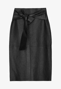 Uterqüe - Pencil skirt - black - 5