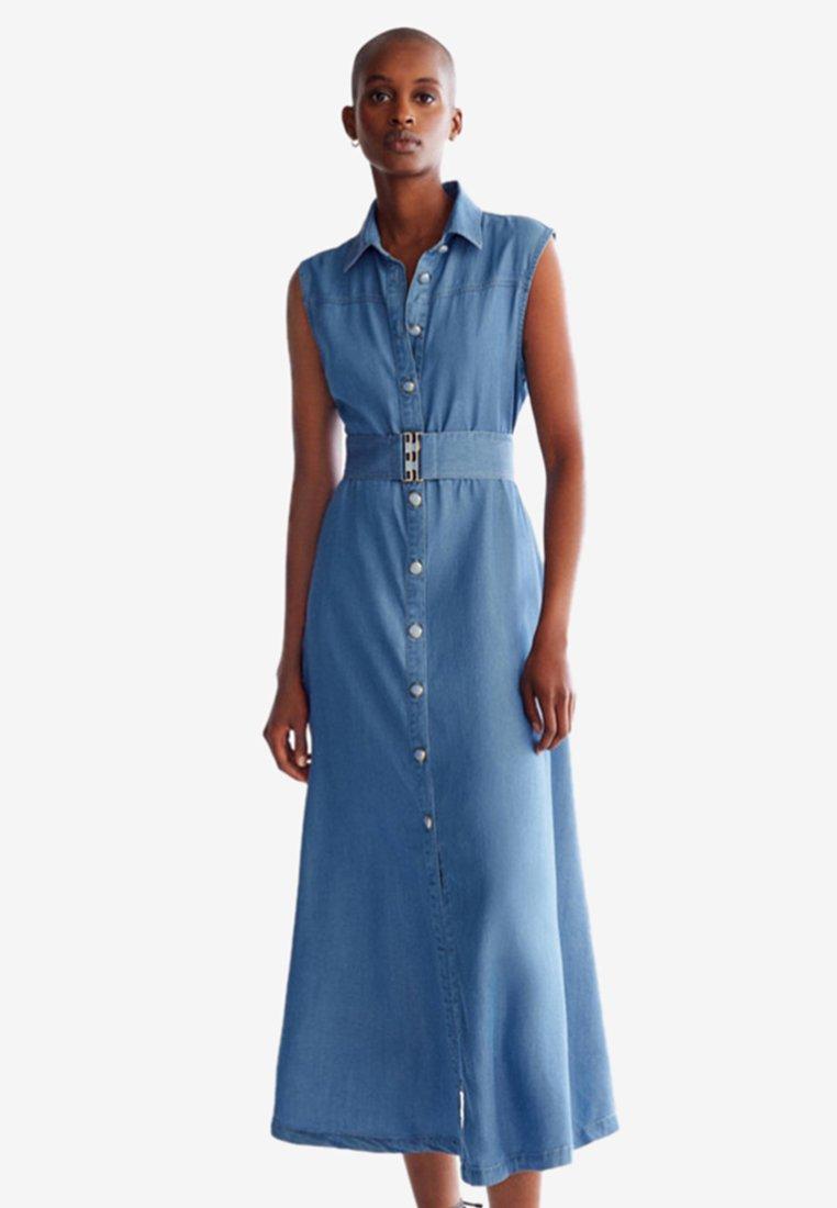 Uterqüe - HOSE - Maxi dress - Blue