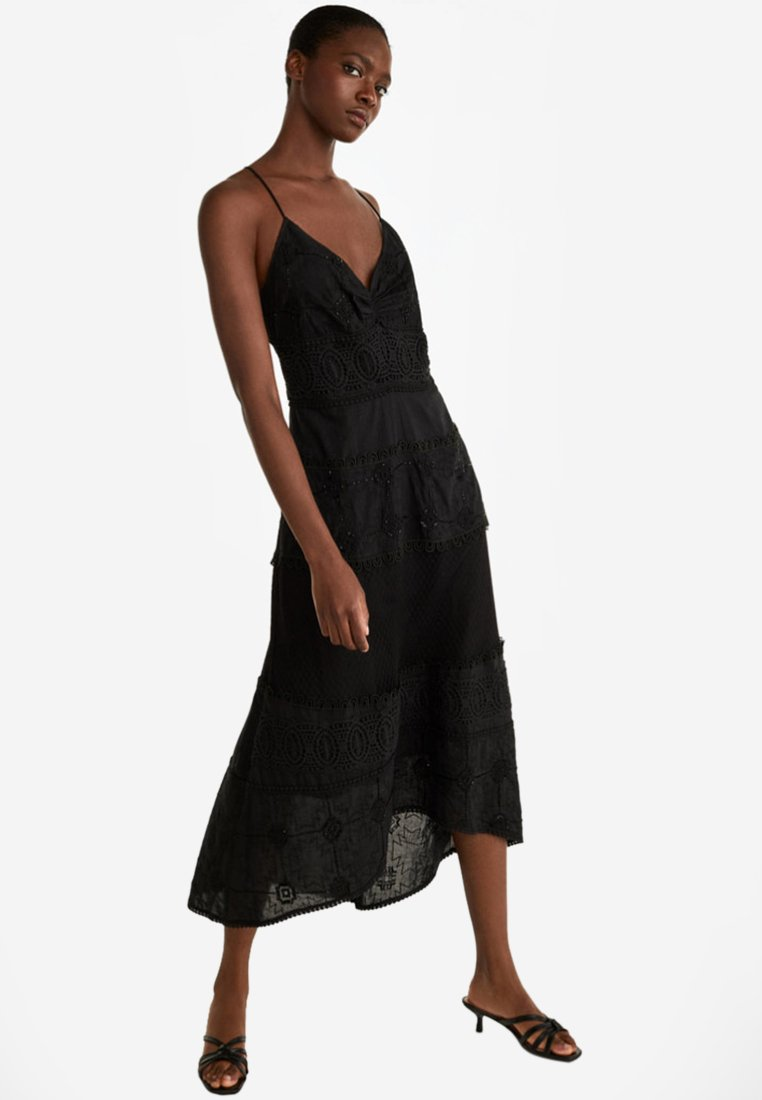Uterqüe - Maxi dress - black