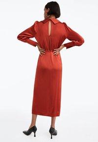 Uterqüe - Day dress - brown - 2