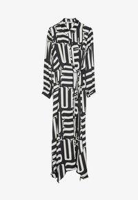 Uterqüe - Maxi šaty - black - 5