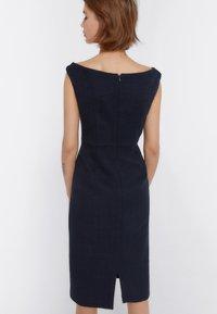 Uterqüe - Day dress - dark blue - 2