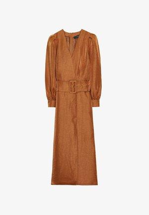 00509253 - Sukienka letnia - ochre