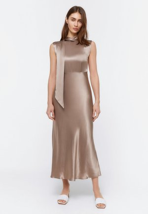 FLIESSENDES KLEID 00204260 - Cocktailjurk - light grey