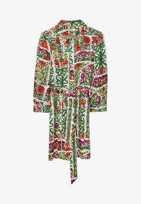 Uterqüe - MIT PRINT - Sukienka letnia - white - 6