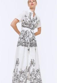 Uterqüe - Maxi dress - white - 4