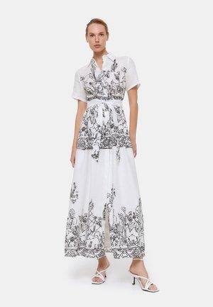 Maxi šaty - white