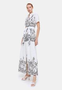 Uterqüe - Maxi dress - white - 1