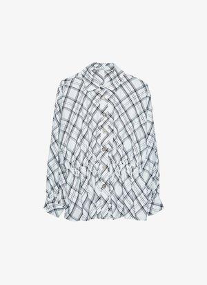 MIT GUMMIZUG - Skjortebluser - white