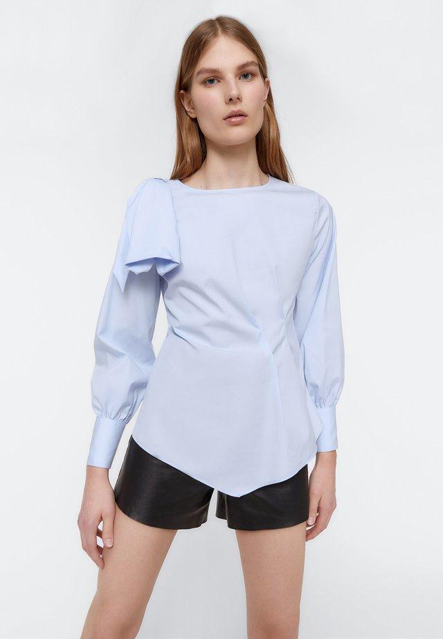 MIT SCHLEIFE  - Blouse - blue