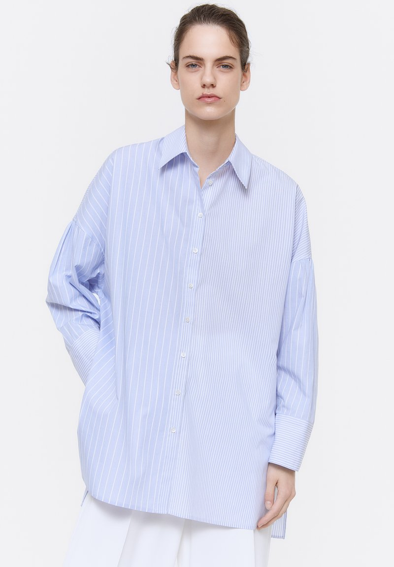 Uterqüe - 00681253 - Button-down blouse - blue