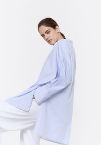 Uterqüe - 00681253 - Button-down blouse - blue - 4