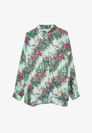 HEMD MIT BLUMENPRINT 00673253 - Button-down blouse - green