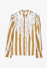 Uterqüe - GUIPURE-HEMD 00648253 - Button-down blouse - white - 4