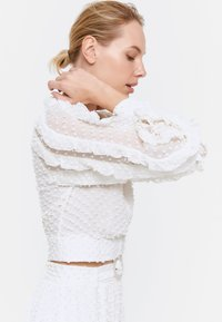 Uterqüe - Button-down blouse - white - 4