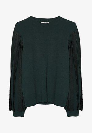 MIT BÄNDERN - Sweter - green