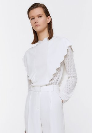 APPLIKATIONEN AN DER VORDERSEITE  - Sweatshirt - beige