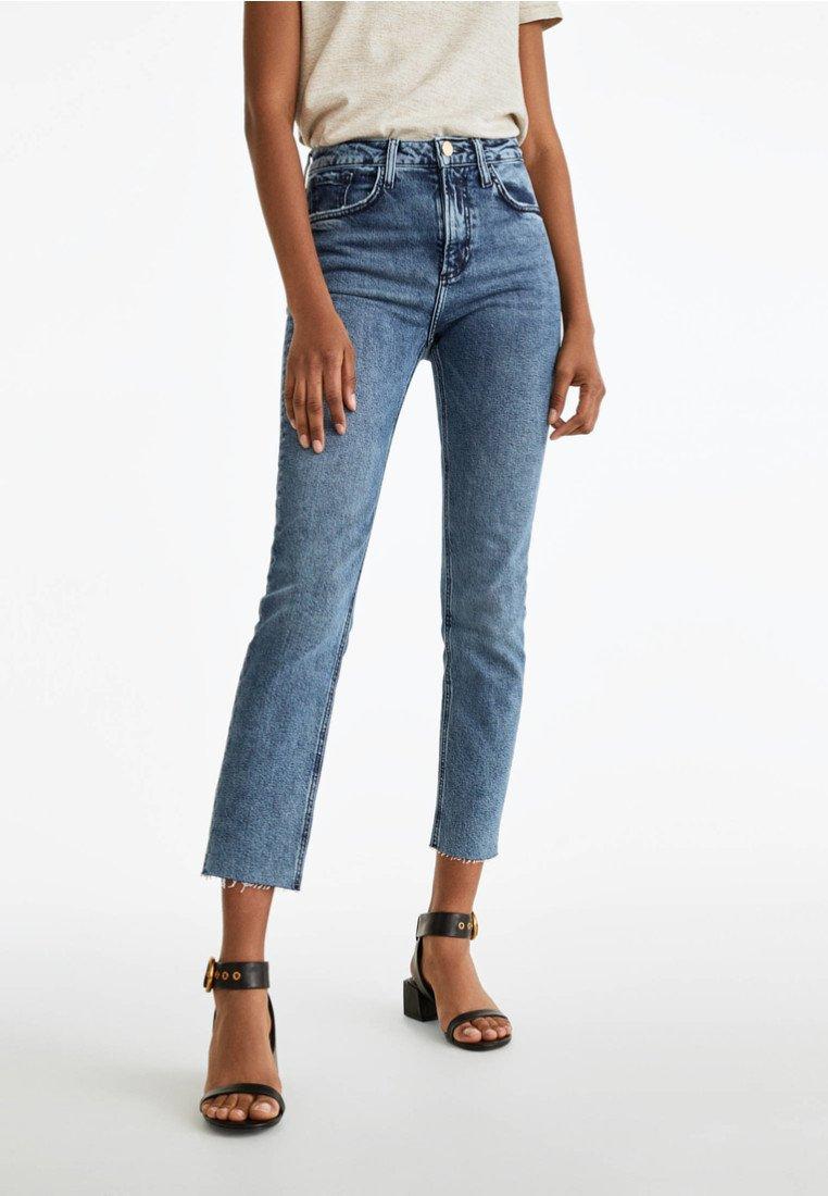 Uterqüe - Jeans Slim Fit - blue