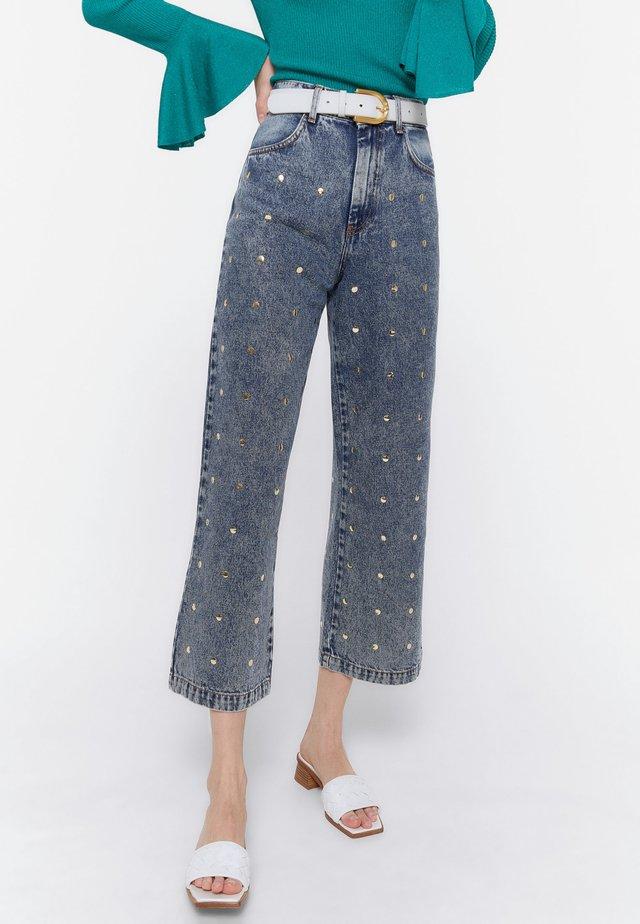 00112660 - Jeans Straight Leg - blue