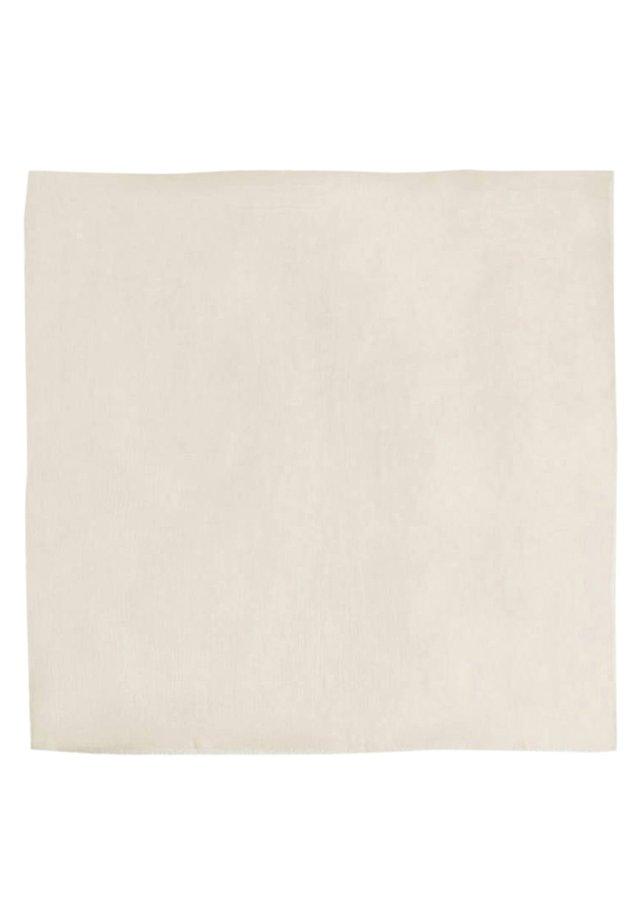 UNIFARBENES FOULARD 01800801 - Scarf - beige