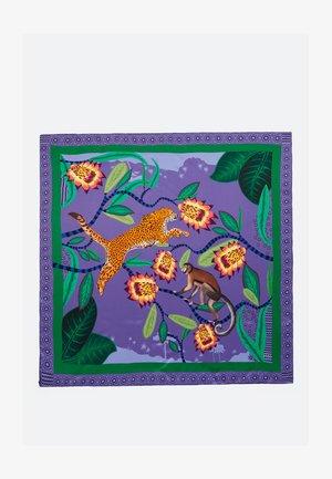 MIT TIEREN - Szal - dark purple