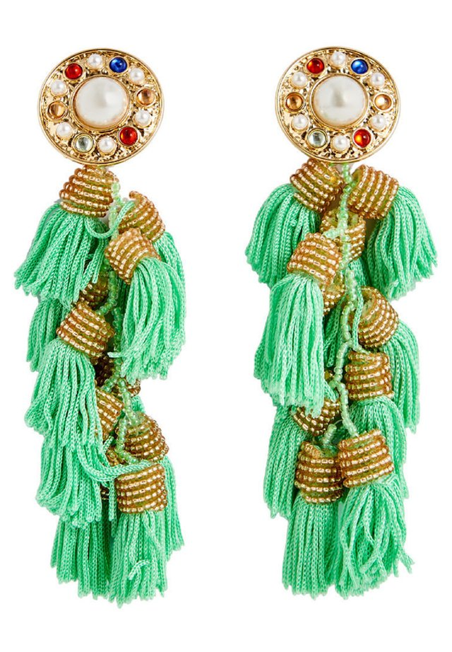 MIT FRANSEN - Earrings - green