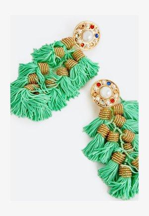 MIT FRANSEN - Earrings - green