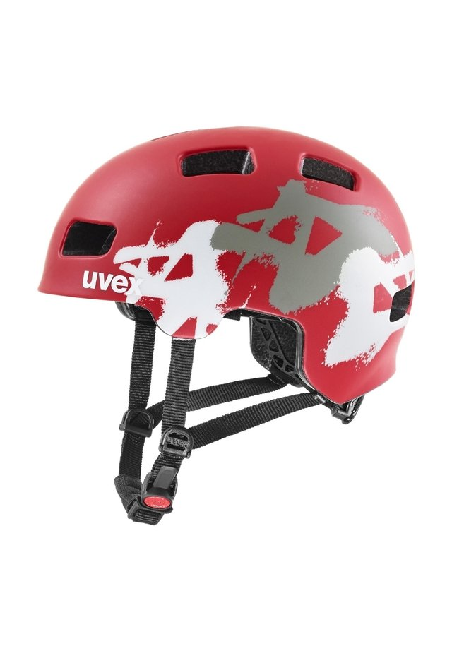 MANDANT - Helmet - red mat (s41097903)