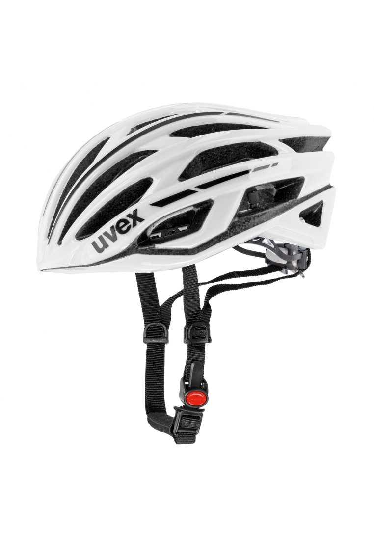 Uvex - RACE 5 - Helm - weiß/schwarz