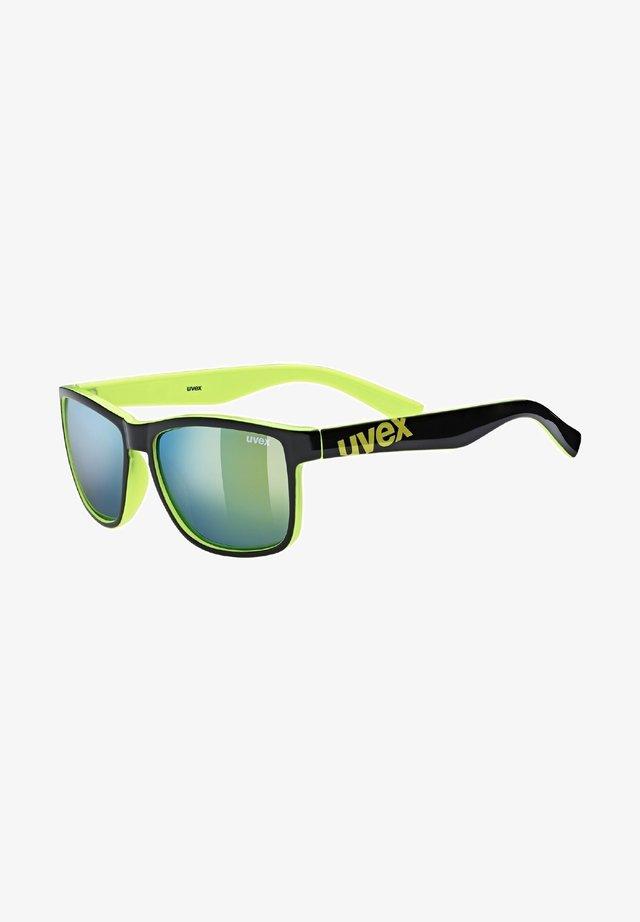 Sunglasses - black lime