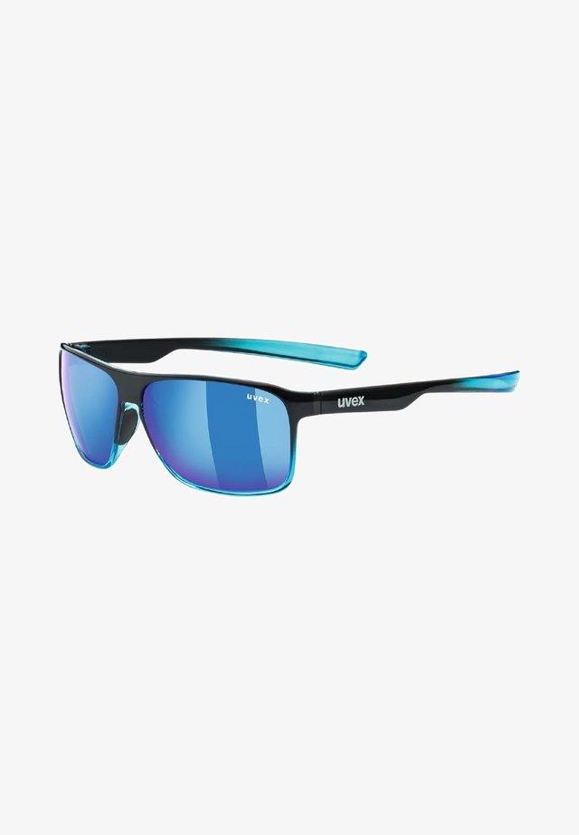 POLA - Sports glasses - black/blue