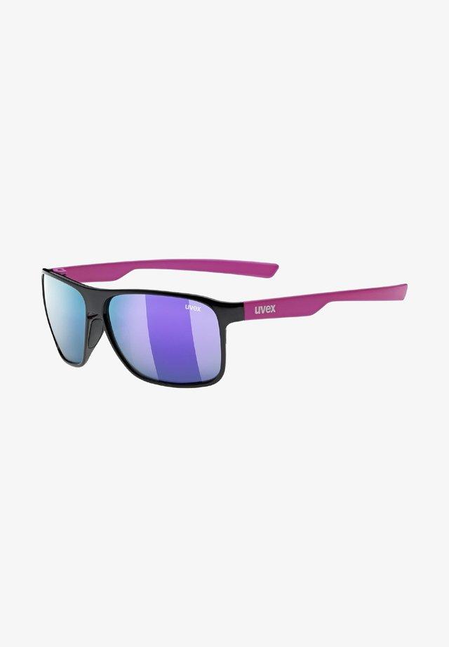 POLA - Sports glasses - black/pink