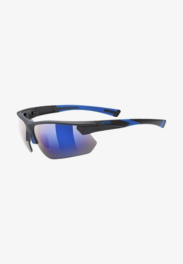 Sports glasses - black/blue
