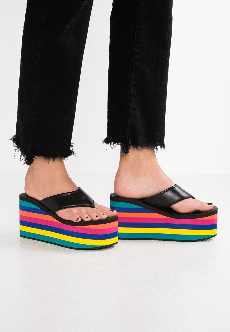Uzurii - ORIGINAL - T-bar sandals - multicolor
