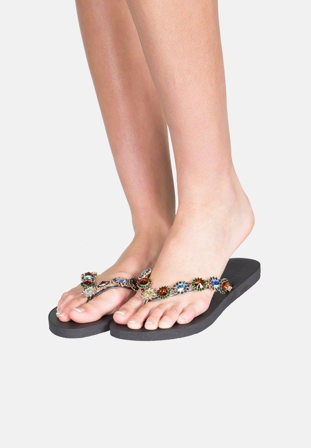 MONROE - T-bar sandals - black